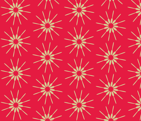 Spoon Red fabric by designedtoat on Spoonflower - custom fabric