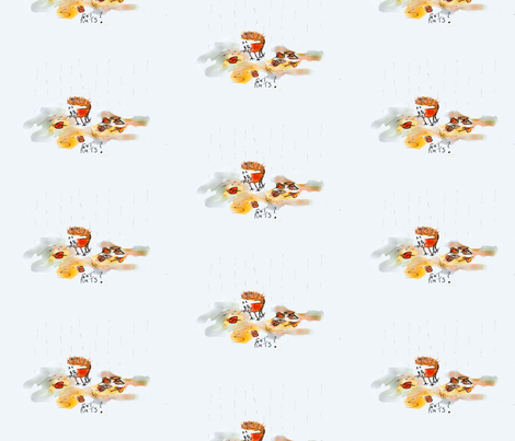 """Got nuts?""-ed fabric by lingsy on Spoonflower - custom fabric"