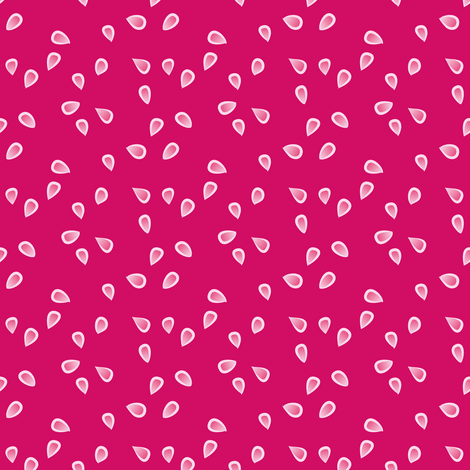 little petals - fuchsia fabric by fox&lark on Spoonflower - custom fabric