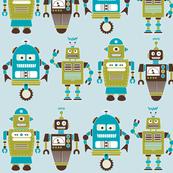 Robot Line Blue