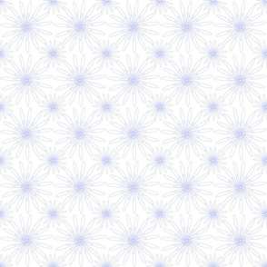 white dotted flowers