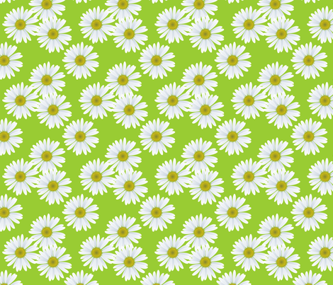 daisy_pattern fabric by priti on Spoonflower - custom fabric