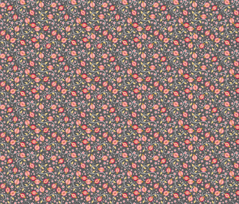A Jewel of A Fruit - Small fabric by inscribed_here on Spoonflower - custom fabric