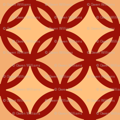 circles diamonds autumn colors 4