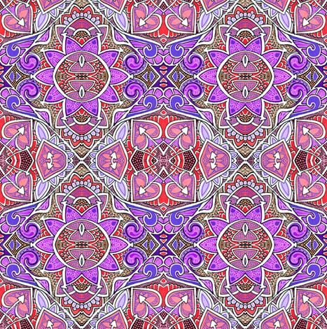 Old Purple Sun fabric by edsel2084 on Spoonflower - custom fabric