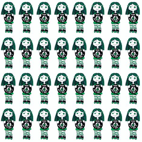 jr derby green fabric by derbymom716 on Spoonflower - custom fabric