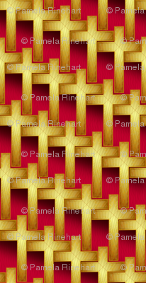 gold_cross_weave_on_red