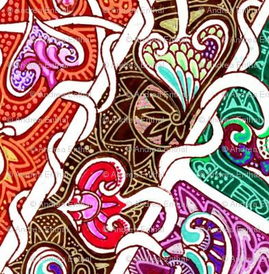 Tangled Laces Argyle