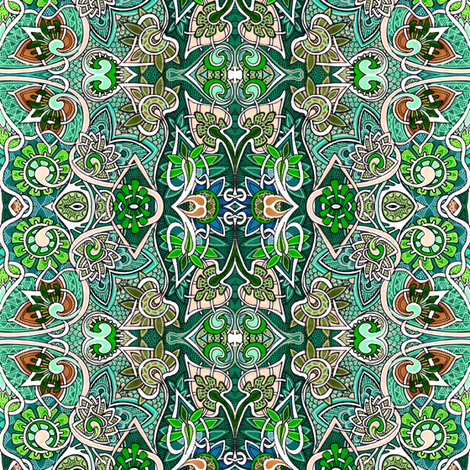 The Casual Gardener fabric by edsel2084 on Spoonflower - custom fabric