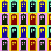 Tardis pop art