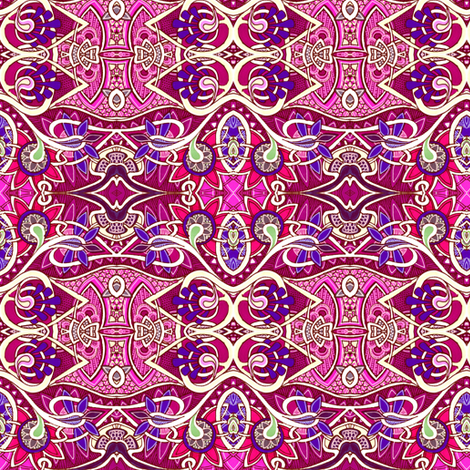 To India With Love fabric by edsel2084 on Spoonflower - custom fabric