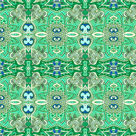 The Wearing of the Green fabric by edsel2084 on Spoonflower - custom fabric