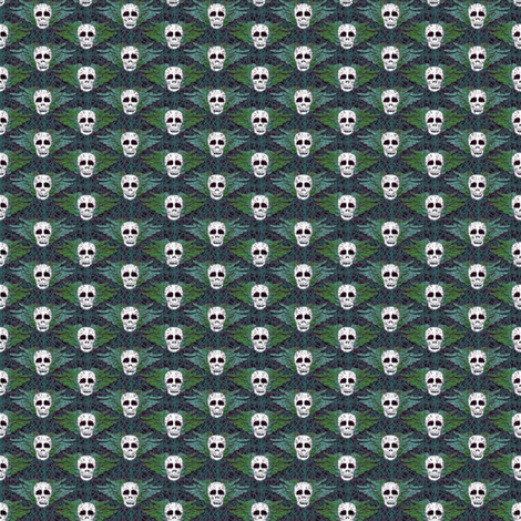 winged_skulls_02 fabric by glimmericks on Spoonflower - custom fabric