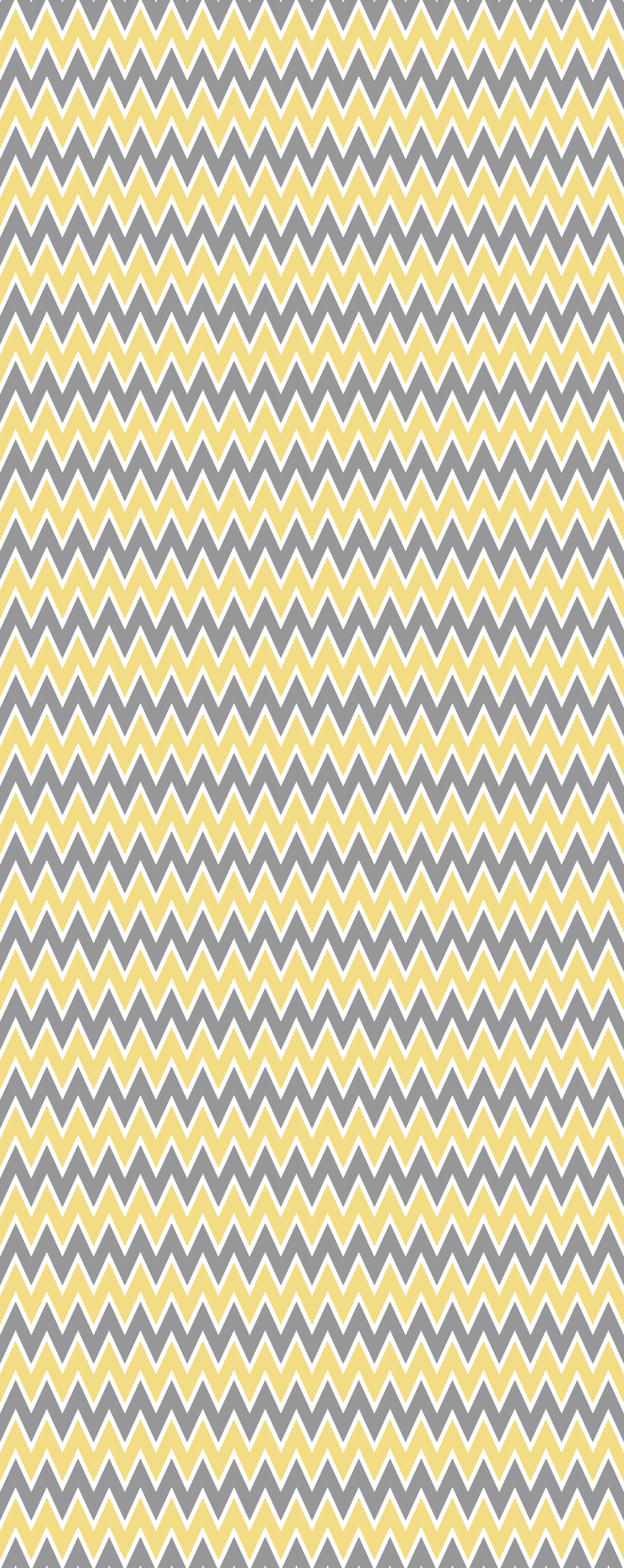 Yellow Gray Chevron Stripe