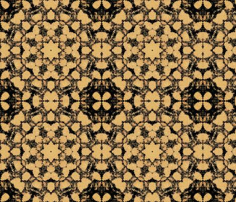 kaleidoscopic peacock