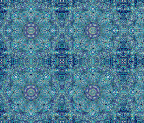kaleidoscopic agate fabric by kociara on Spoonflower - custom fabric