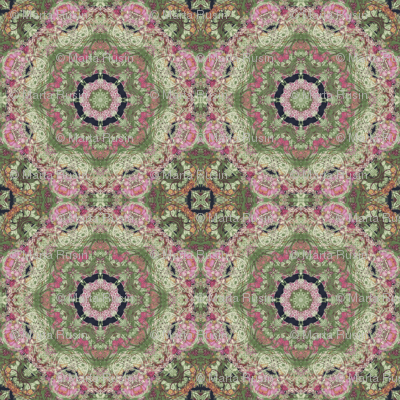 kaleidoscopic floral