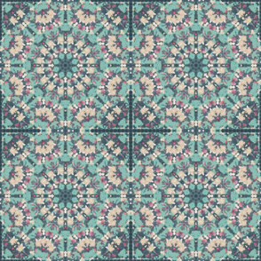 kaleidoscopic lotus