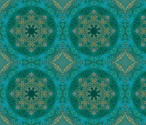 kaleidoscopic dragonfly fabric by kociara on Spoonflower - custom fabric