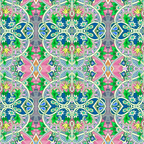 Watch the Birdie fabric by edsel2084 on Spoonflower - custom fabric