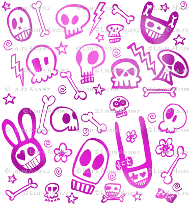 FunSkulls Purple