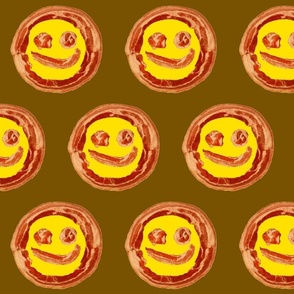 bacon smiley / dots