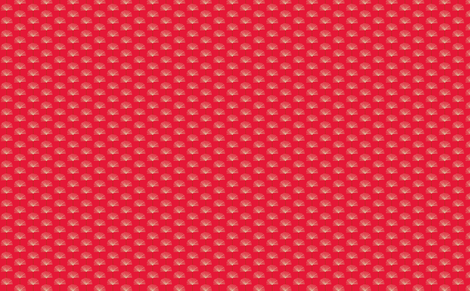 coral pouf fabric by dnbmama on Spoonflower - custom fabric