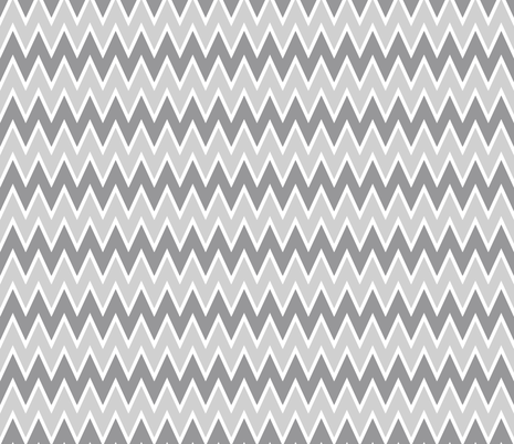Gray and Gray Chevron fabric by allisajacobs on Spoonflower - custom fabric