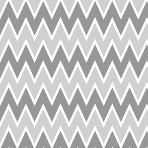 Gray and Gray Chevron