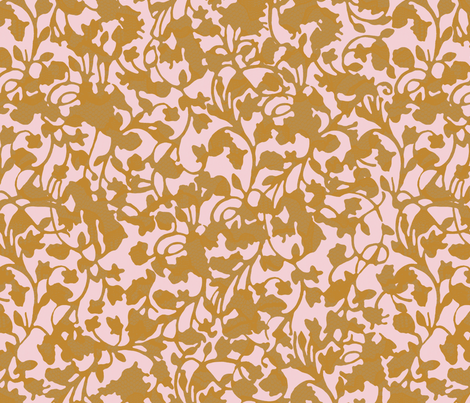 Earth_Caramel fabric by garimadhawan on Spoonflower - custom fabric