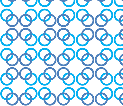Circles fabric by reganraff on Spoonflower - custom fabric