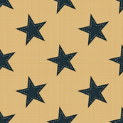 Sewn on stars
