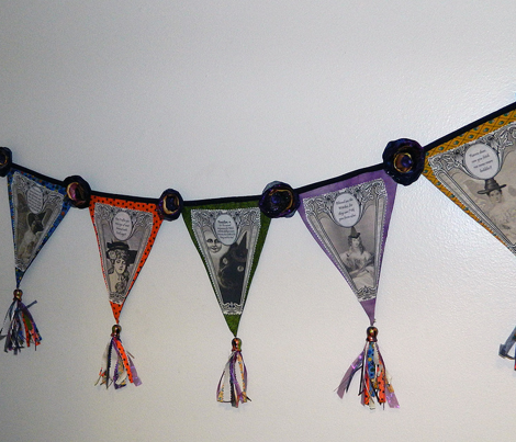Witch Pennants