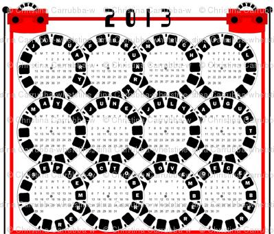 Viewmaster Calendar 2013