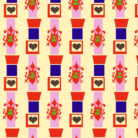Princess Wallpaper fabric by boris_thumbkin on Spoonflower - custom fabric
