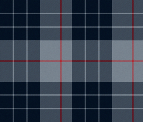 Dark and Stormy Night Plaid fabric by peacoquettedesigns on Spoonflower - custom fabric