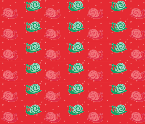 FRIO_CALIENTE_CARACOLIN fabric by gurumania on Spoonflower - custom fabric