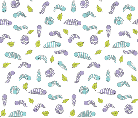 Hungry Herbivores fabric by ilikemeat on Spoonflower - custom fabric