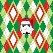 Argyle Christmas Stormtrooper