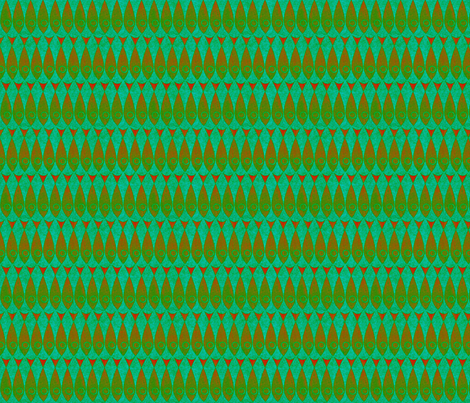 little_fishies jewels of the sea fabric by glimmericks on Spoonflower - custom fabric