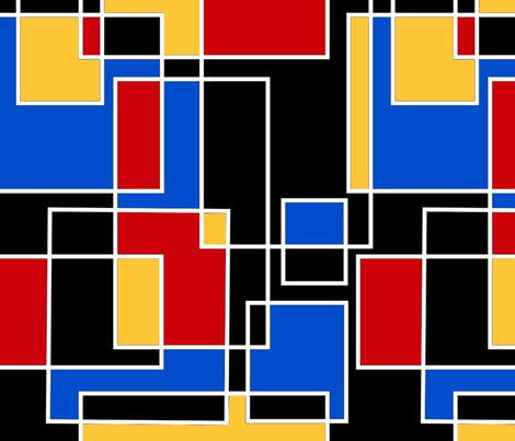 Primary Color Blocks fabric by jaana on Spoonflower - custom fabric