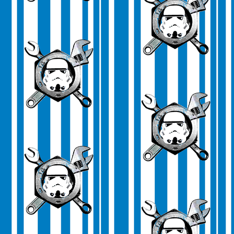 Toolman Trooper fabric by smuk on Spoonflower - custom fabric