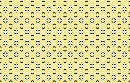 Yellow Scales fabric by mewack on Spoonflower - custom fabric