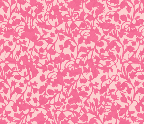 Earth_Flamingo fabric by garimadhawan on Spoonflower - custom fabric