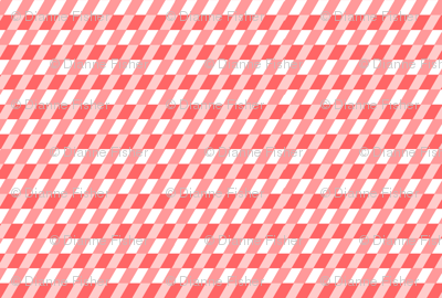 Diagonal checks in coral