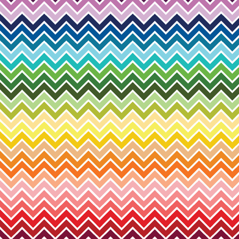 rainbow fabric by meli_lees on Spoonflower - custom fabric