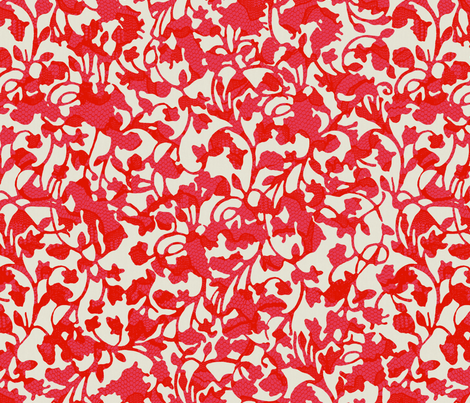 Earth_Red fabric by garimadhawan on Spoonflower - custom fabric