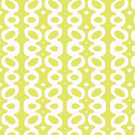Egg Drop Stripe (white & key lime) fabric by pattyryboltdesigns on Spoonflower - custom fabric