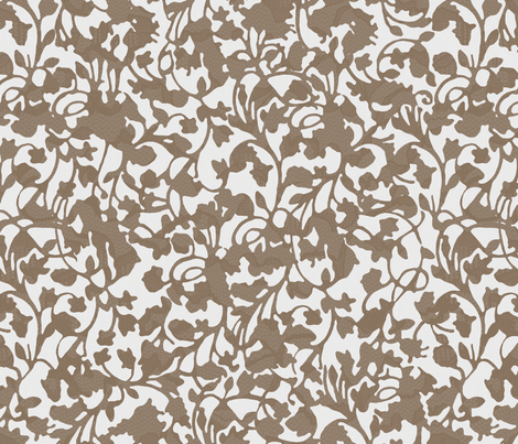 Earth_Truffle fabric by garimadhawan on Spoonflower - custom fabric
