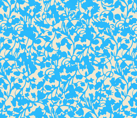 Earth_Turquoise fabric by garimadhawan on Spoonflower - custom fabric